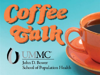 UMMC School of Population Health Coffee Talk logo