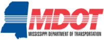 MDOT logo Mississippi Department of Transportation