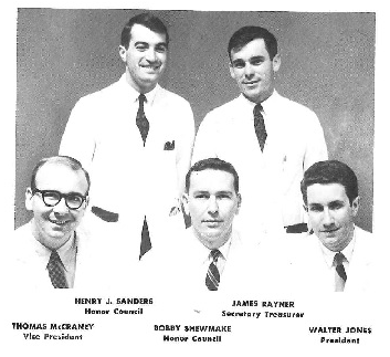 Rayner served as secretary for the SOM Class of 1966 at UMMC.