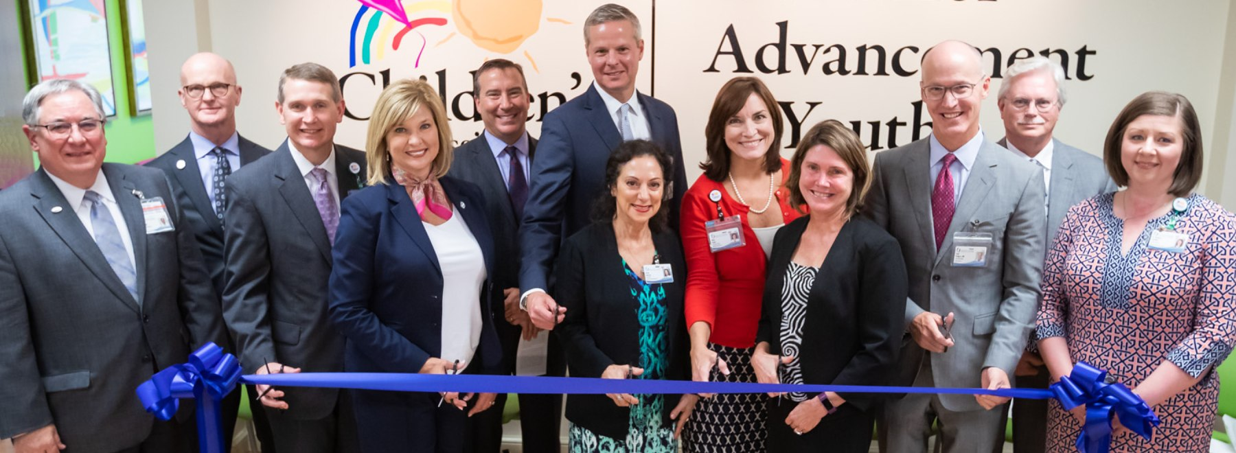 Ribbon-cutting ceremony for CAY