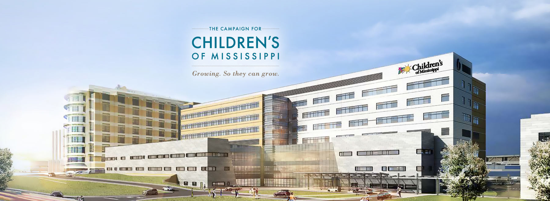 Our capital campaign will help expand the state's only hospital for children.