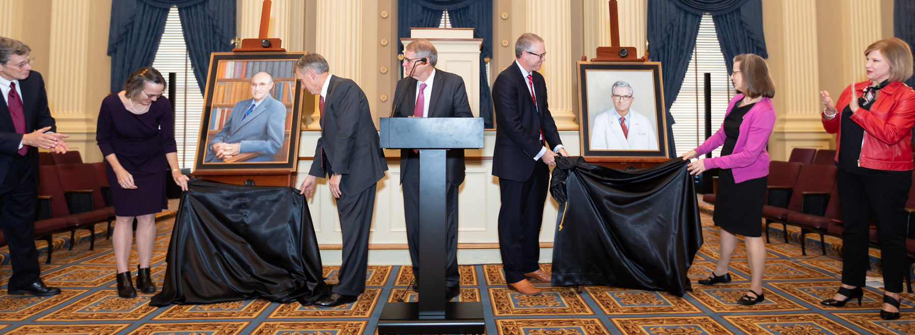 Two frames of mind: State Hall of Fame dedicates Guyton, Hardy portraits