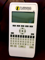 CT faculty use clicker technology for daily quizzes.
