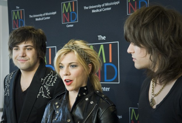 The Band Perry speak to the press