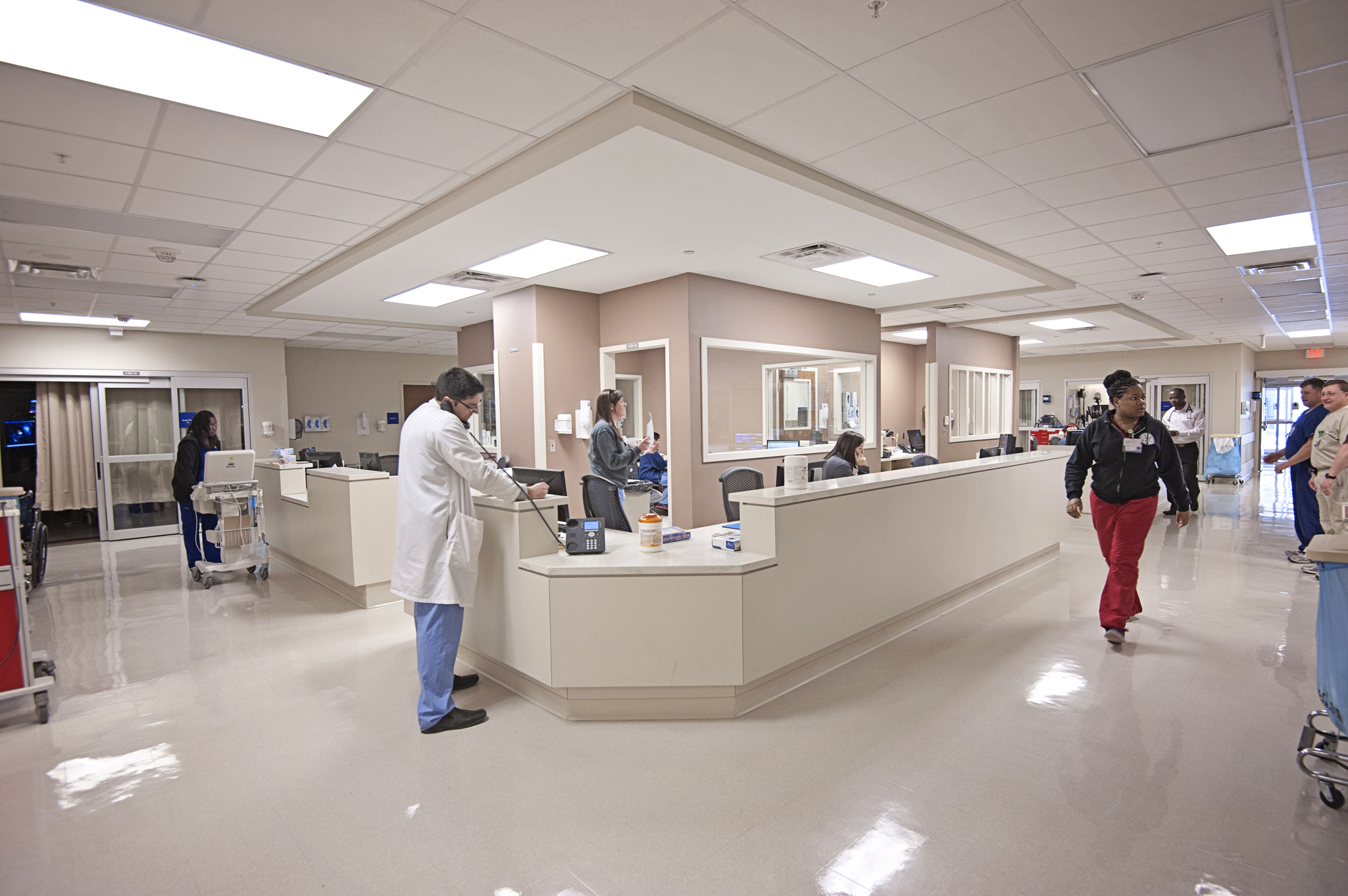 Newly opened Phase II of the Adult Emergency Department