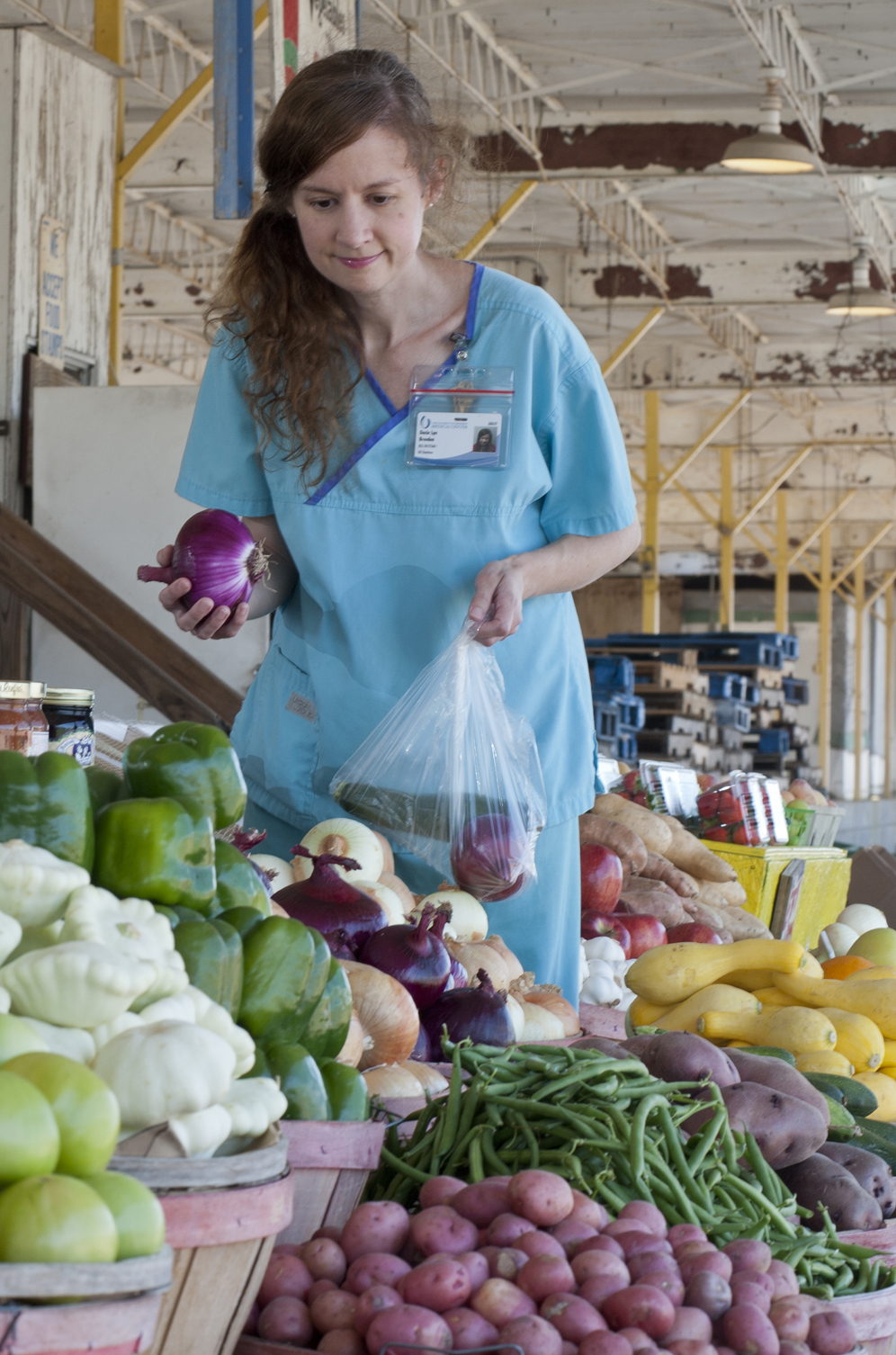 Dacia Breeden, a registered dietitian at the University of Mississippi Medical Center.