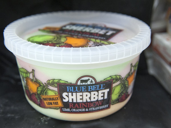 All Blue Bell Creamery products, including sherbet, are part of an April 20 nationwide recall in the wake of Listeria bacteria contamination at some Blue Bell factories.