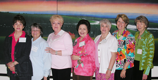 McCormac, third from left, with fellow members of the Class of 1965 at a 2010 alumni dinner.