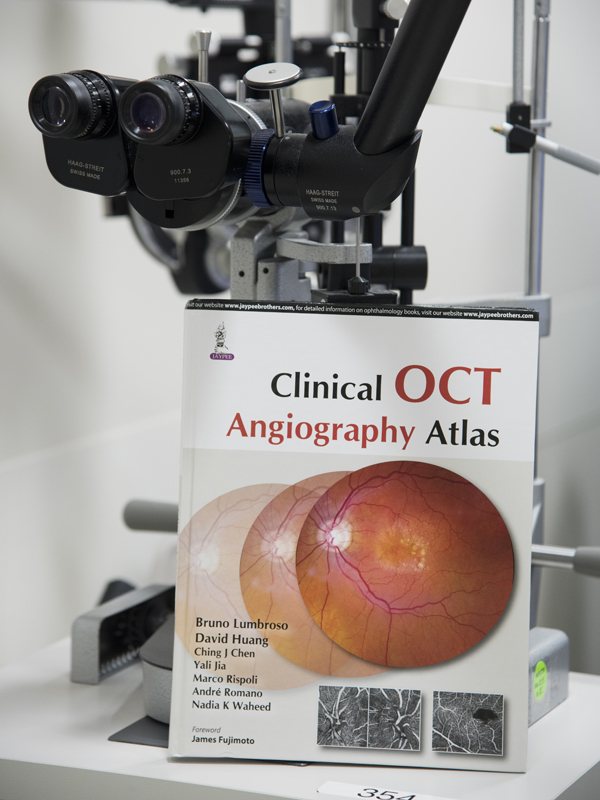 Chen is editor and co-author of the textbook Clinical OCT Angiography Atlas