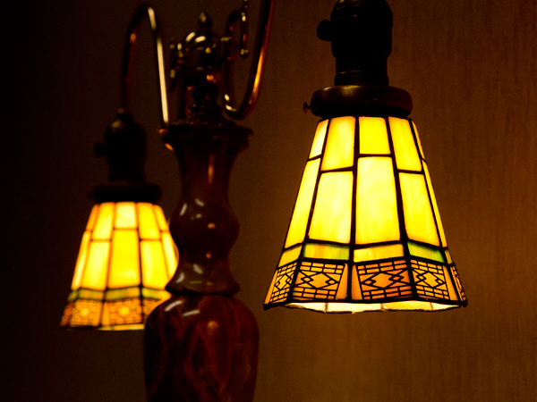 The lamps can be found throughout the clinic at nurses stations, hallways and patient areas.