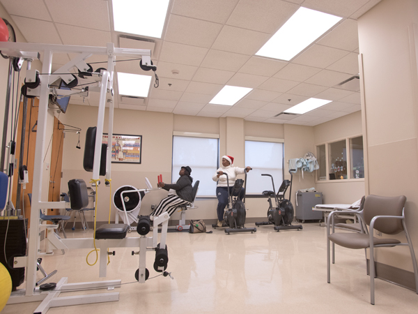UMMC Holmes County in Lexington, Miss. recently underwent renovations to the emergency and rehabilitation departments.