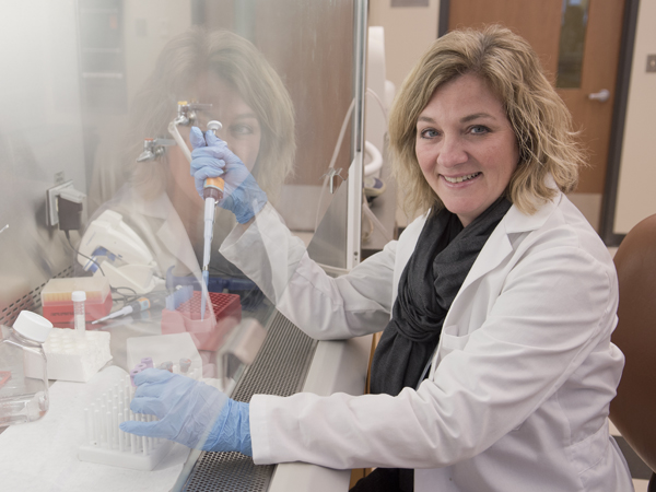 Dr. Babbette LaMarca, associate professor of pharmacology, says that vitamin D supplements may improve blood pressure and inflammation in preeclampsia patients.