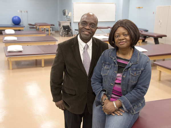 Dr. Felix Adah and Esther Adah of Clinton have brought up one physician and have three more children earning, or about to earn, an M.D.