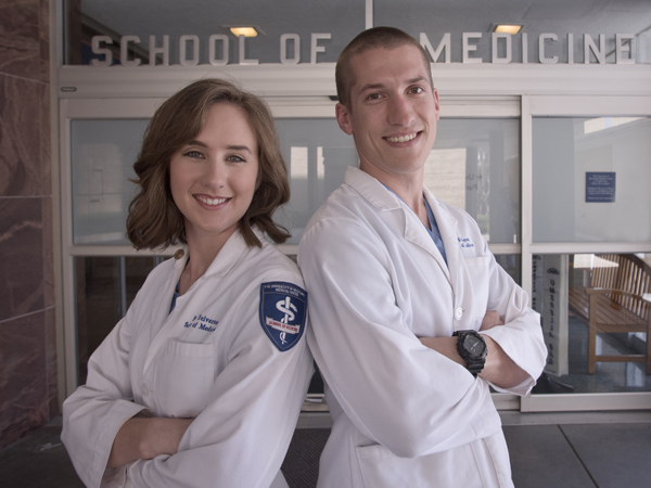 Eden and Sam Yelverton, who are from medical families, discovered their love of medicine by watching their fathers' relationships with patients.