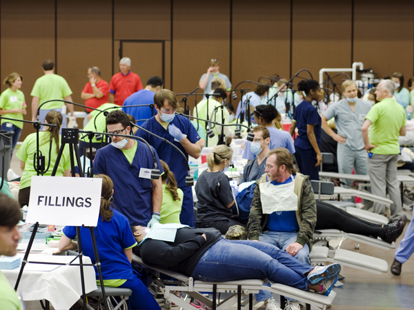 MDA's Mission of Mercy project delivered free dental care at a two-day event at Hinds Community College in Pearl to over 2,600 Mississippians who could not have otherwise afforded it.