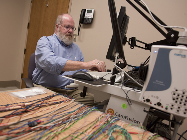 Tansey works in the electrophysiology lab at Methodist Rehabilitation Center.