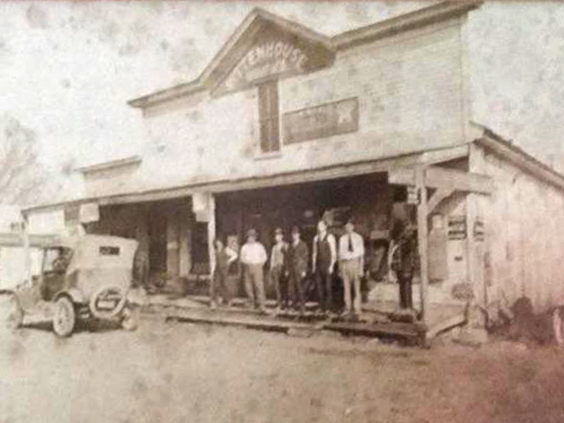 Charles Durrell Shelton's store in Brunswick, Tennessee