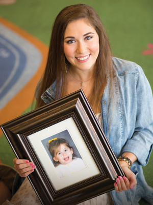When Craft was five days old, surgery at Batson Children's Hospital mended her heart.