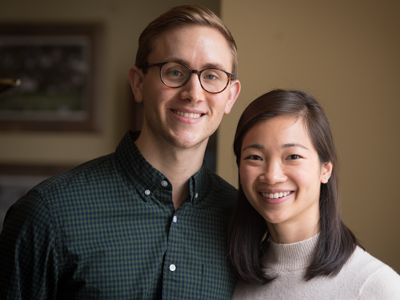 Alex Mullen and wife Cathy Chen, a fellow M3, co-authored a scholarly work on study tips.