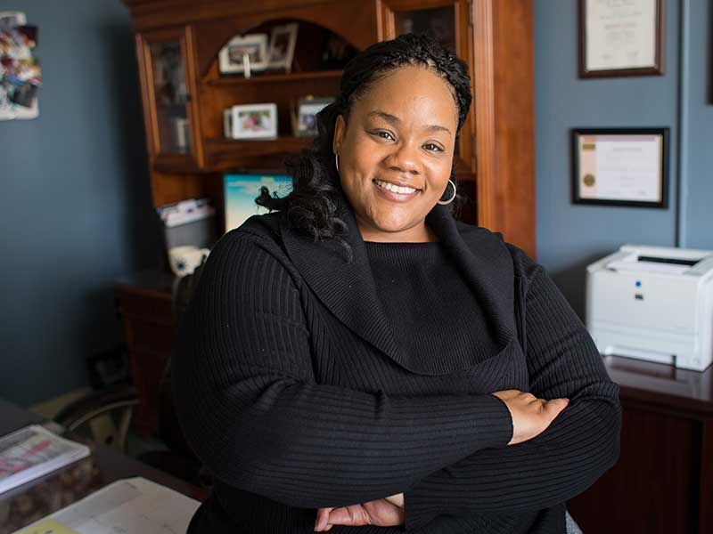 Dr. Shannon Pittman Moore was appointed the fourth chair of the Department of Family Medicine, as announced Nov. 15 by Dr. LouAnn Woodward, vice chancellor for health affairs.