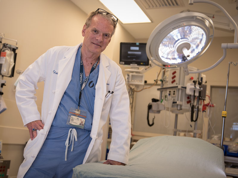 Dr. Thomas Helling, professor and chief of the Division of General Surgery, has written a book on the courageous surgeons and physicians who saved lives in the Pacific Islands during WWII.