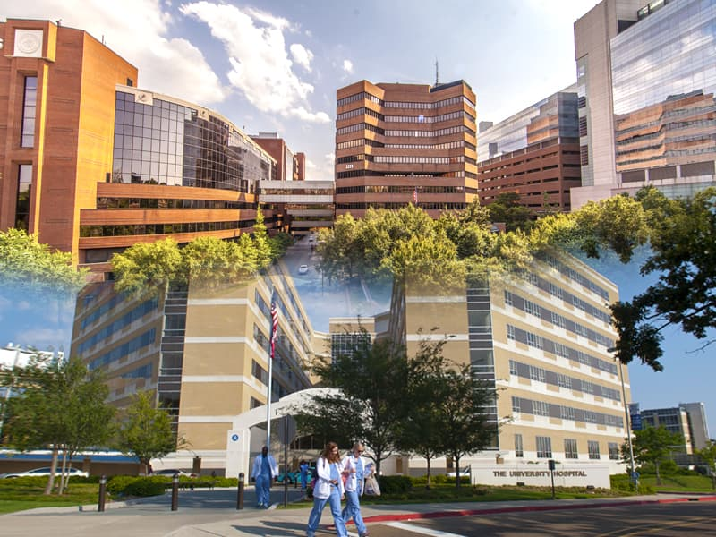 Vanderbilt University Medical Center, top, and the University of Mississippi Medical Center have announced an affiliation agreement that establishes a collaborative relationship between the two organizations.