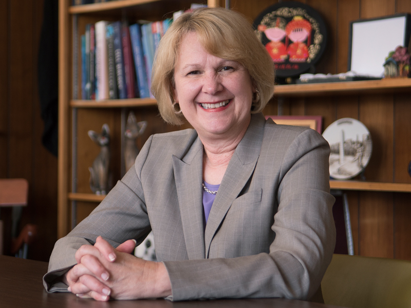 Dr. Jane Reckelhoff, Billy S. Guyton Distinguished Professor and chair of cell and molecular biology, is the 2018 SEC Faculty Achievement Award recipient for the University of Mississippi.