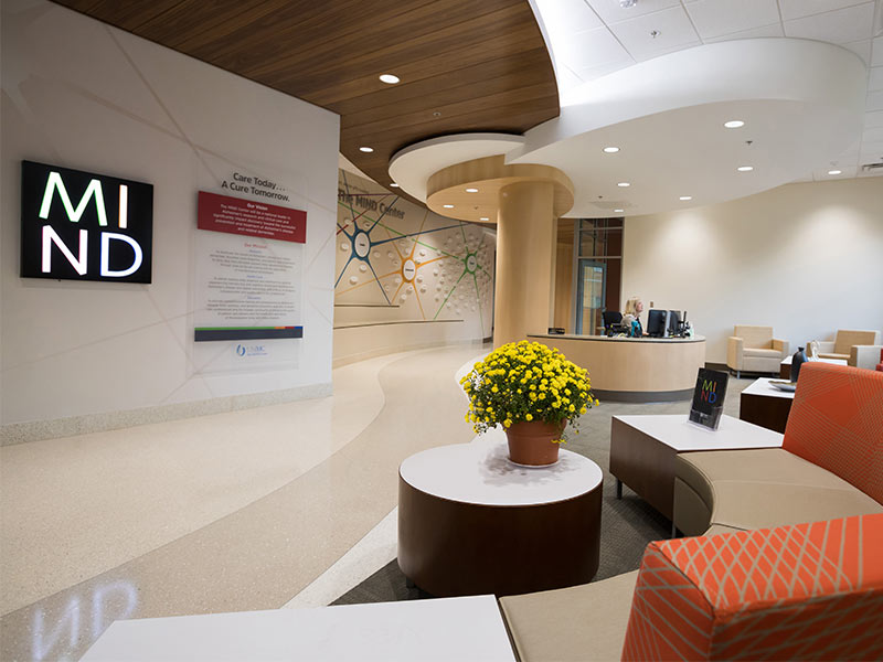 The MIND Center is located in the Translational Research Center on UMMC's campus.
