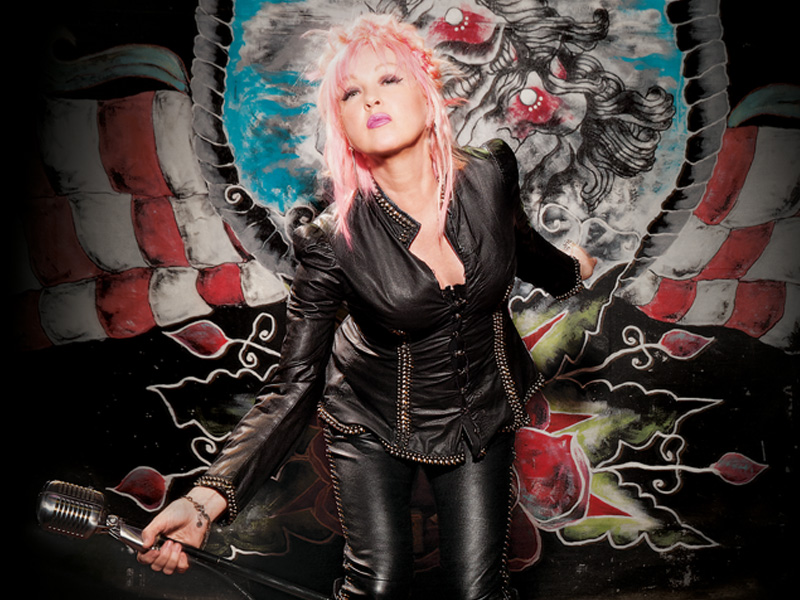 Pop singer Cyndi Lauper will appear in a benefit concert for The MIND Center on Oct. 25 at Thalia Mara Hall in Jackson.