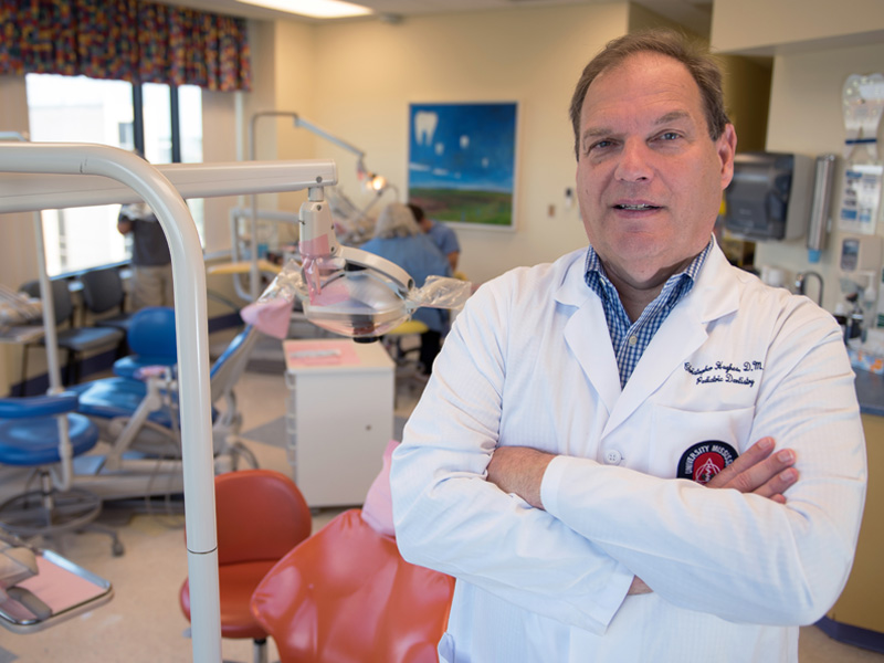 Dr. Christopher Hughes is the new chair of the Department of Pediatric Dentistry.