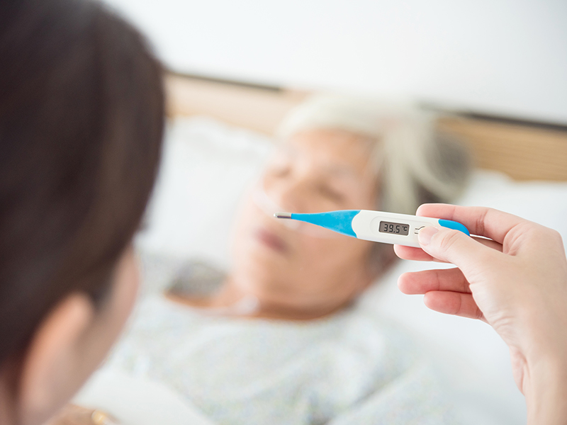 The elderly are especially vulnerable to flu and its complications.