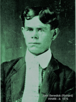 John Benedict Whitfill was a patient in the Mississippi State Hospital for the Insane from the fall of 1931 until his death the following January.