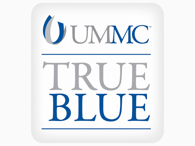 True Blue Pin