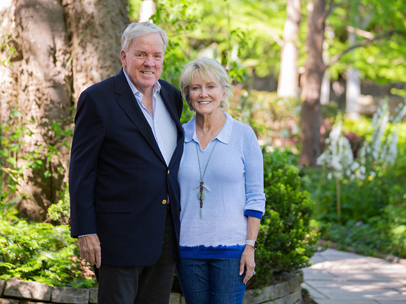A few years after they first met, Jim and Donna Barksdale established their eponymous scholarships for medical students at UMMC.