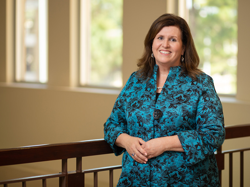 Dr. Julie Sanford became dean of the School of Nursing in late summer.