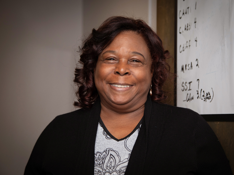 Myrtle Tate is a process engineer in Performance Improvement.