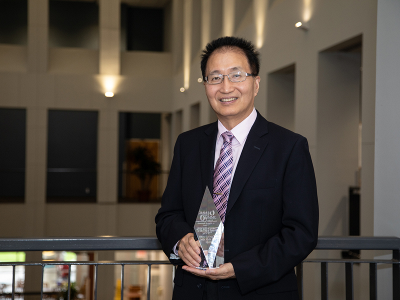 Outstanding Achievement in Clinical Research award winner Dr. Shou-Ching Tang