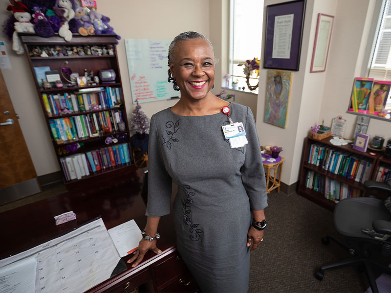 Dr. LaDonna Northington, who began her nursing career in the Children's Hospital Pediatric Intensive Care Unit in 1979, has been elected Society of Pediatric Nurses president.