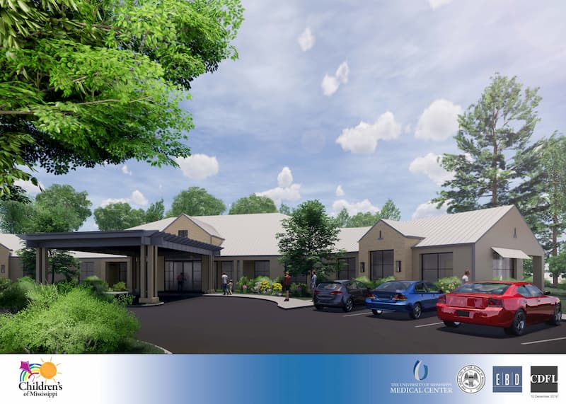 Mississippi's pediatric skilled nursing facility will be just minutes from the UMMC campus in Jackson.