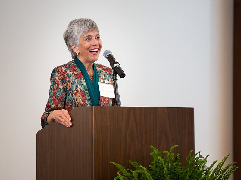 Dr. Barbara Mauldin said being named 2020 Dental Alumna of the Year is a special honor because it came from her peers.