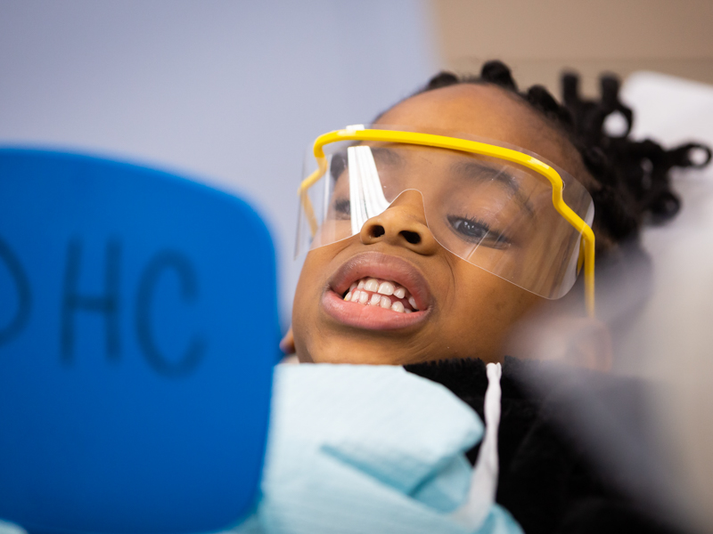 Photos: 340 JPS students receive free dental care during Give Kids a Smile