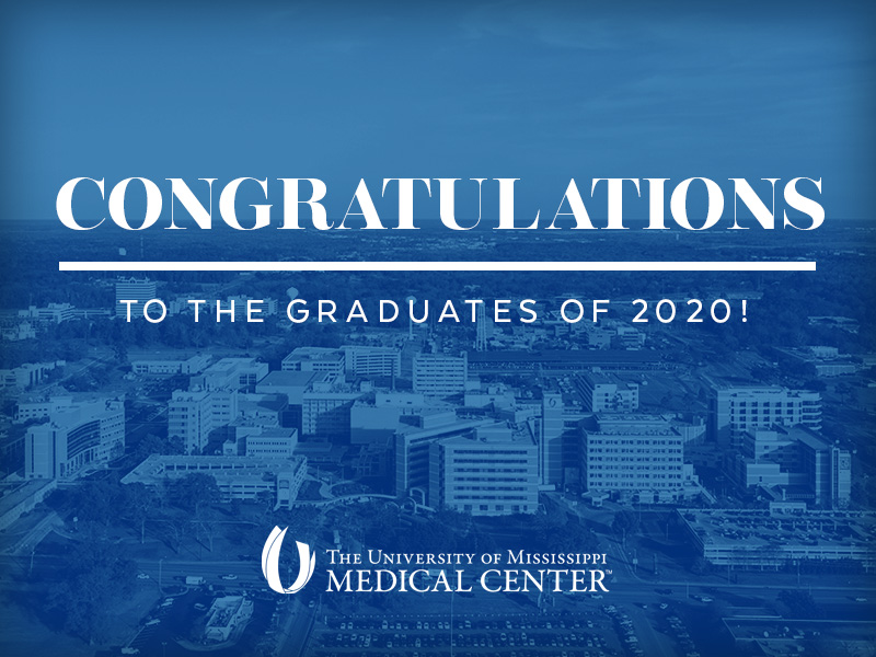 The Medical Center extends its congratulations and thanks to the Class of 2020 and faculty in UMMC's seven schools.
