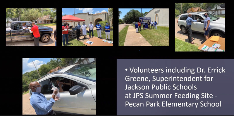 The Jackson Heart Study's community engagement efforts this summer included both statewide and local efforts, including a partnership with Jackson Public Schools.