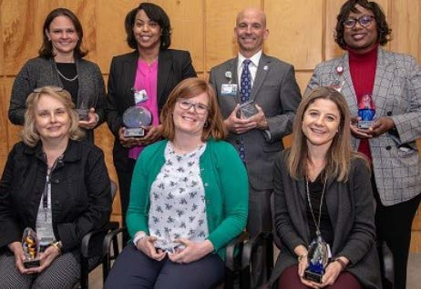 Photo of 2020 awards recipients