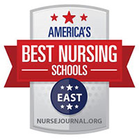 Best Nursing Schools East badge
